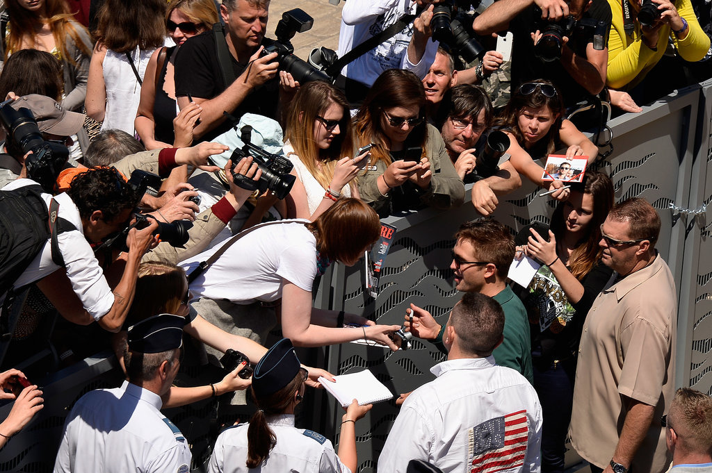 Robert Pattinson had fans for days.