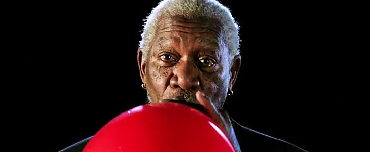 Here's How Morgan Freeman's Voice Sounds on Helium
