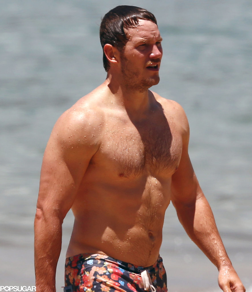 Chris Pratt Still Looks Really Good Shirtless