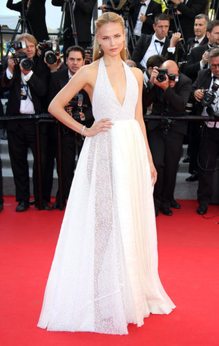 Natasha Poly at the Cannes Closing Ceremony
