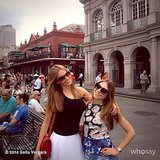 Sofia Vergara relaxed with family in New Orleans. Source: Sofia Vergara on WhoSay