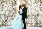 Kim Kardashian Weds in Givenchy