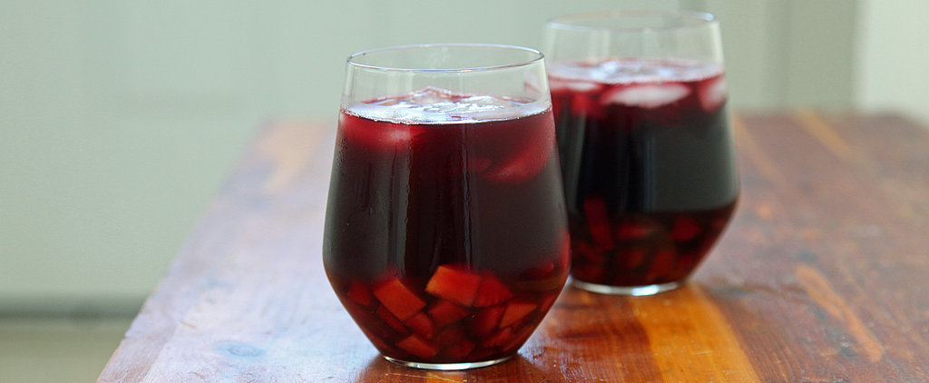 Kick Happy Hour Into High Gear With Strawberry-Peach Sangria
