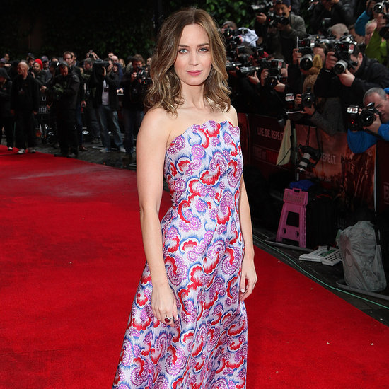 Emily Blunt at the Edge of Tomorrow World Premiere