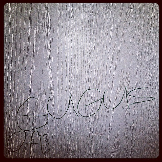 When He Learned to Write His Name . . . on Your Furniture