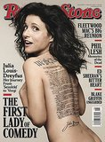 Julia Louis-Dreyfus For Rolling Stone, April 2014