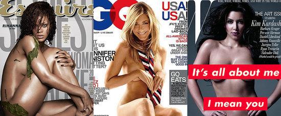 33 der heißesten Nacktbilder auf Magazin-Titeln