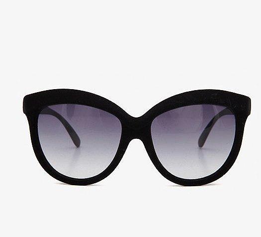 Italia Independent Oversize Velvet Sunglasses ($225)