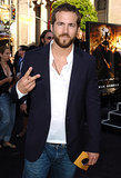 When He Rocked Facial Hair and a Peace Sign For the Batman Begins Premiere