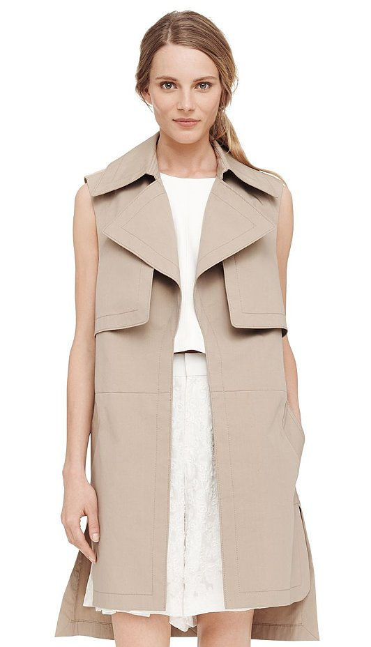 Club Monaco Sleeveless Trench