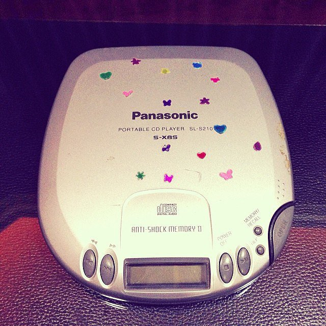 Discman (With Stickers)