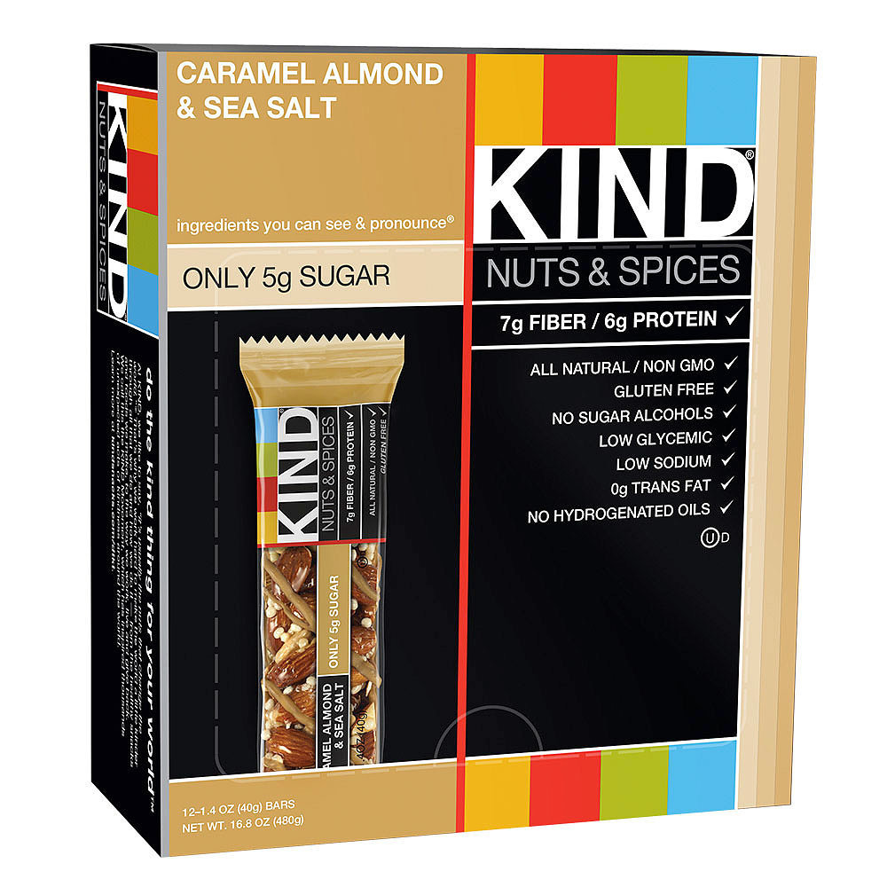 Kind's Caramel Almond and Sea Salt Bar