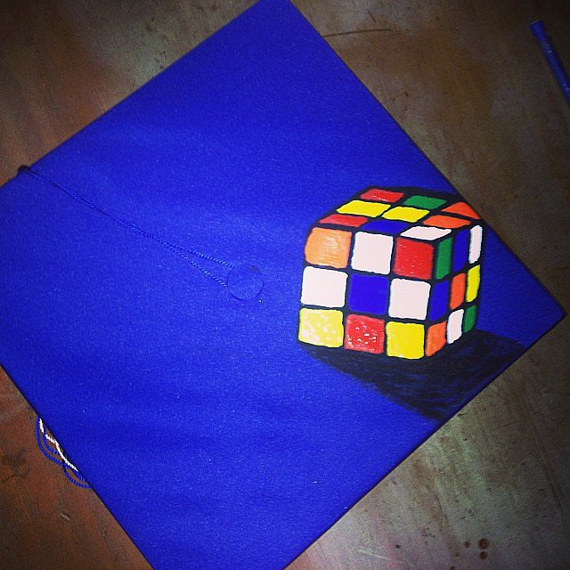 Rubik's Cube or bust.  Source: Instagram user juanparell_