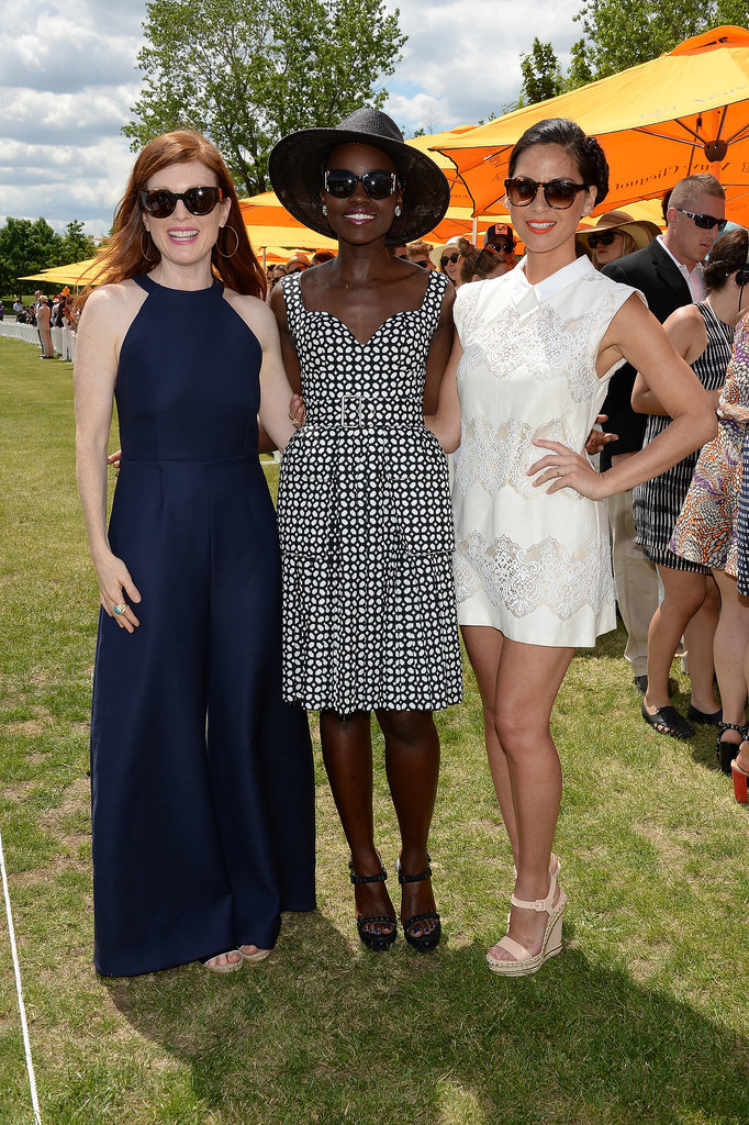 Julianne, Lupita, and Olivia were all smiles.