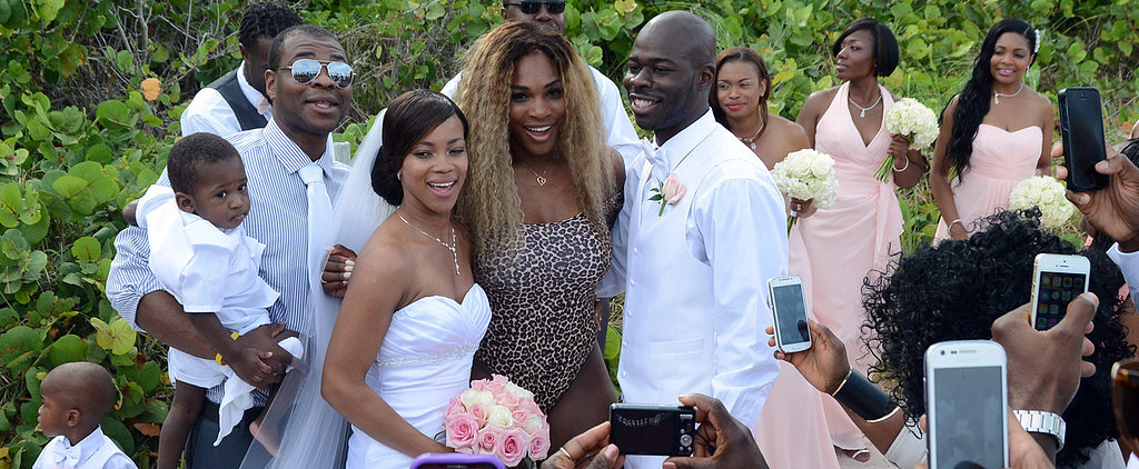 This Is How Serena Williams Crashes a Wedding