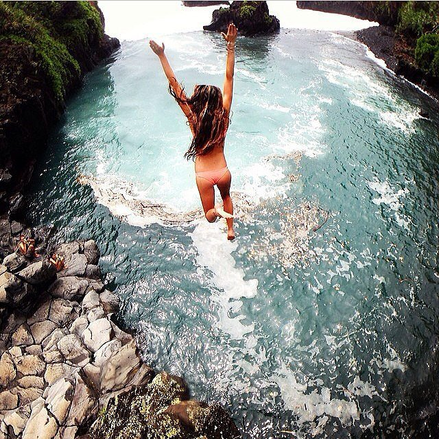 Jumping Into the Water