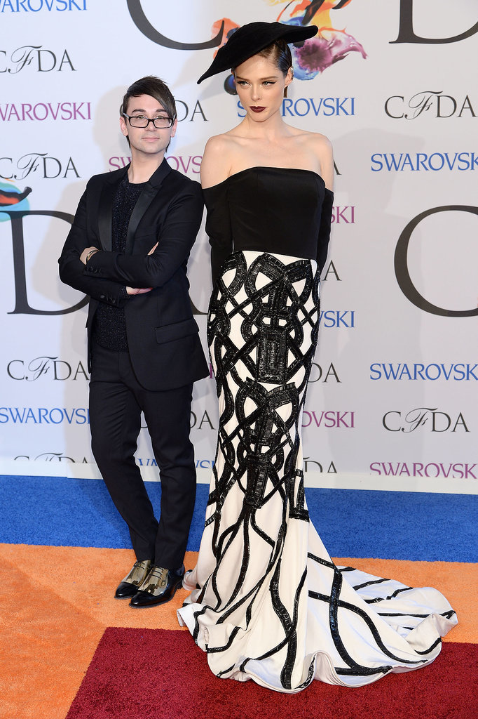 Coco Rocha at the 2014 CFDA Awards