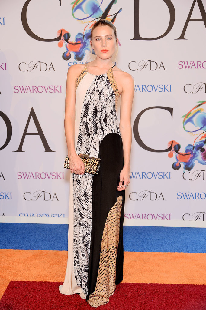 Dree Hemingway at the 2014 CFDA Awards