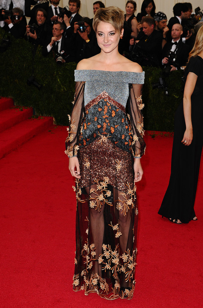 Shailene Woodley in Rodarte at the 2014 Met Gala