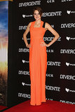 Shailene Woodley in Roksanda Ilincic at the 2014 Divergent Mexico City Premiere