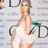 Rihanna See-Through Dress 2014 CFDA Awards | Video