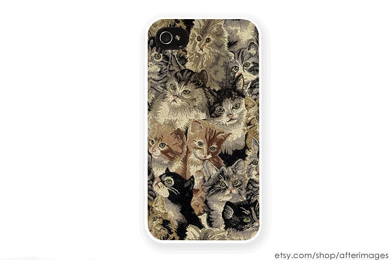 This cat montage case ($18-$22) is one that even grandma would love.