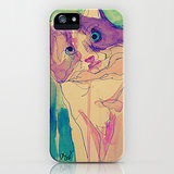 Show off your artistic side with this abstract cat case ($35) that even van Gogh would covet.