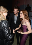 Bradley Cooper and his girlfriend, Suki Waterhouse, laughed with Amy Adams in 2013.