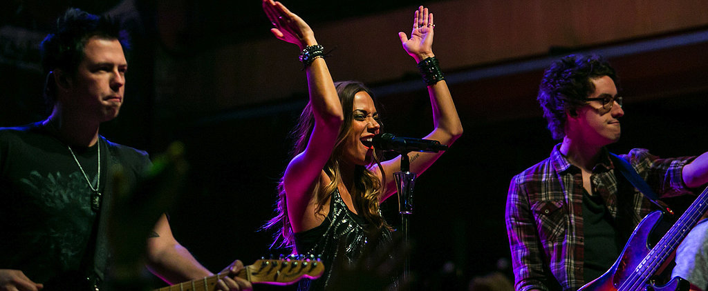 Jana Kramer Partied With Blake Shelton . . . in a Superman Onesie!