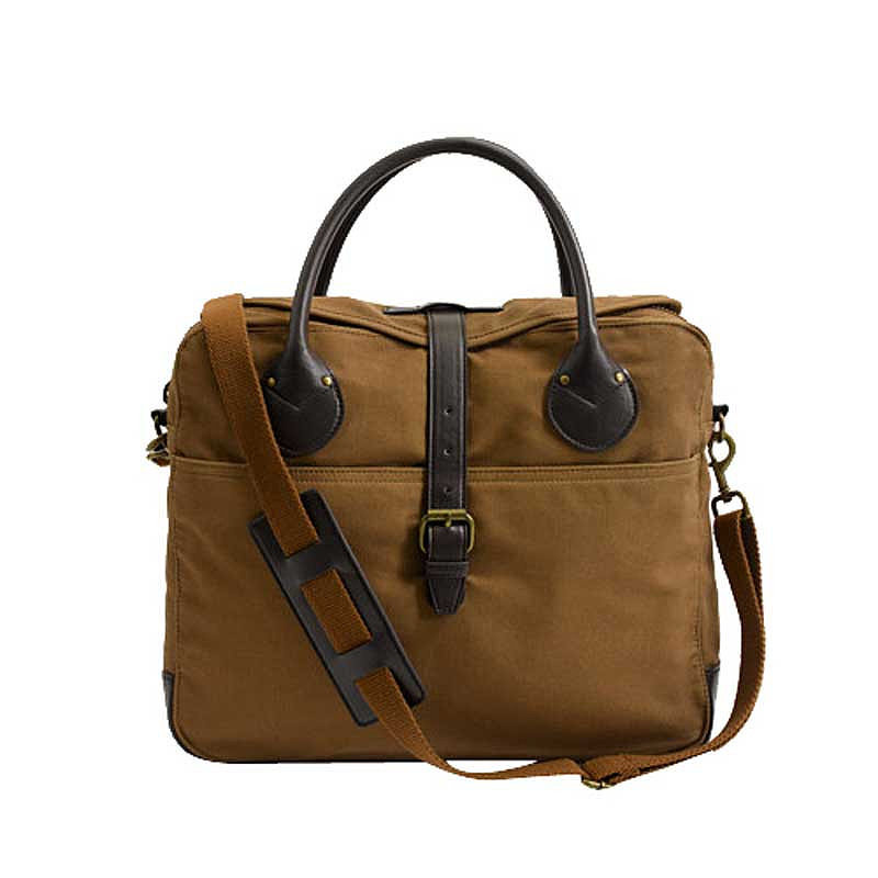 Dad will be the most stylish guy at the office with this twill laptop bag ($50, originally $70).