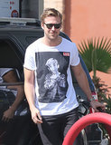 When he wore a Macaulay Culkin shirt, we had never wished we were Macaulay Culkin until that moment.