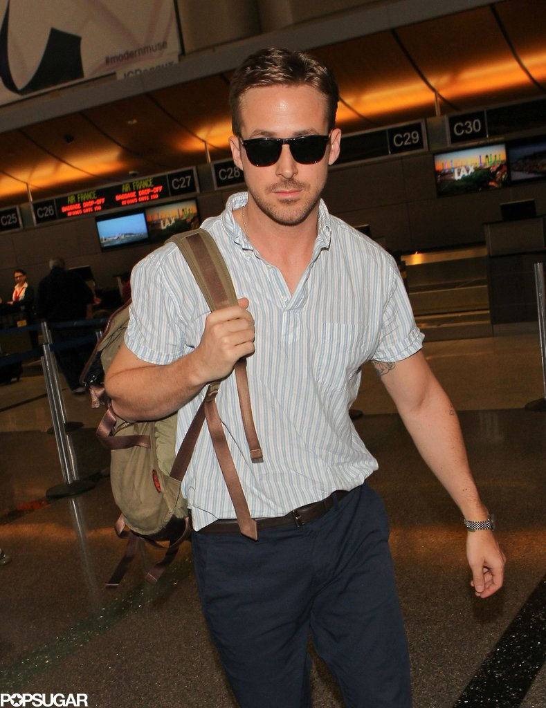 Seriously, who looks this good at the airport? Who?!