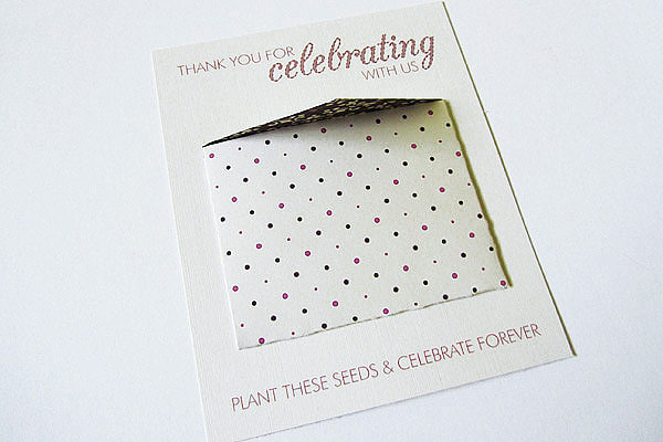 Minienvelope Thank You Cards