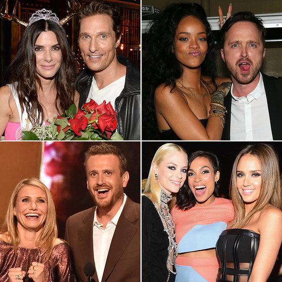 Celebrity Pictures at Guys Choice Awards 2014