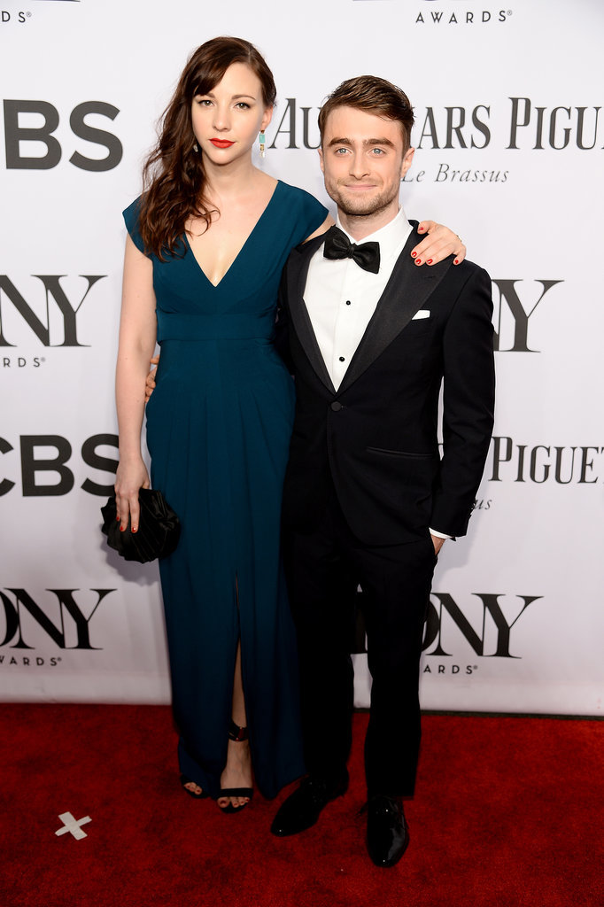 Daniel Radcliffe and Erin Darke made quite the pair.