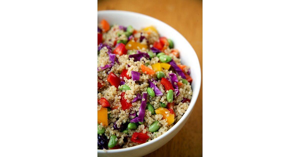 Sesame Ginger Quinoa Salad | Take the Beyoncé Challenge ...