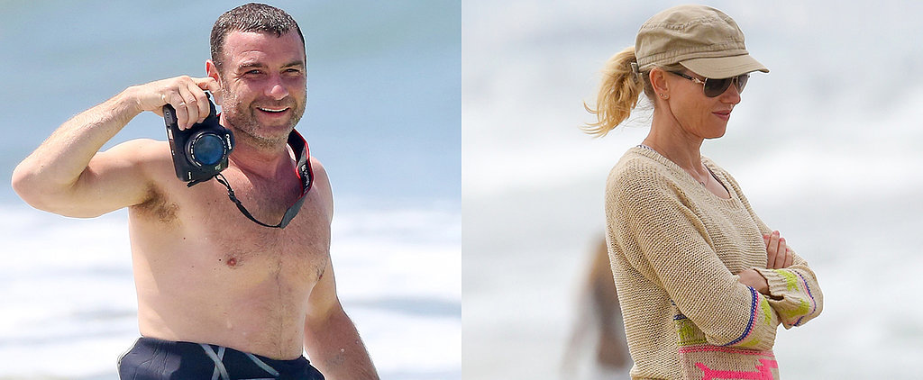 When Shirtless Liev Schreiber Smiles, We Smile