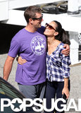 Olivia Munn Packs On the PDA With Aaron Rodgers