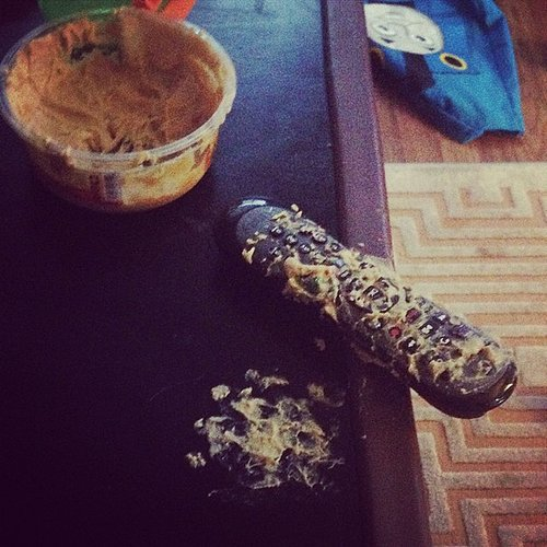 Remote Controls (and Perfectly Good Hummus)