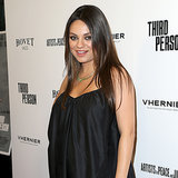 Pregnant Mila Kunis at the Third Person Premiere