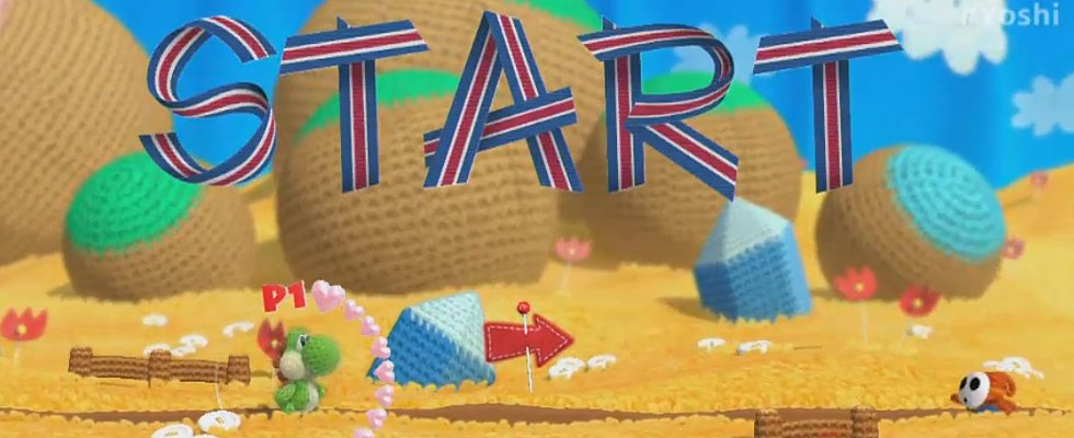 Yoshi's Woolly World Is the Cutest Nintendo Game Ever