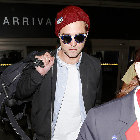 Robert Pattinson at LAX After Australian Trip June 2014