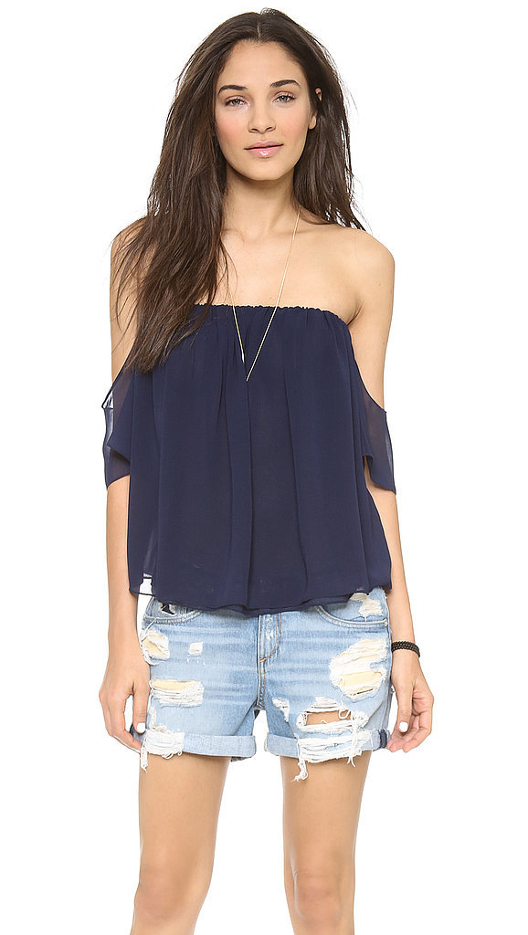 Tbags Off-the-Shoulder Top