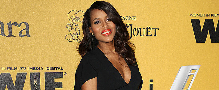 Kerry Washington Was in Good Company For Her Red Carpet Return