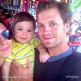 Jamie-Lynn Sigler took Beau Dykstra to Hersheypark for the first time. Source: Instagram user jamielynnsigler