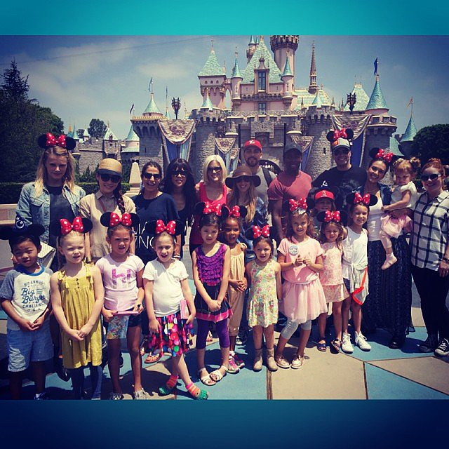 Honor Warren celebrated her sixth birthday at Disneyland with her nearest and dearest. Source: Instagram user jessicaalba