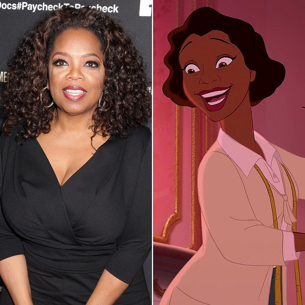 Oprah Winfrey: Eudora in The Princess and the Frog