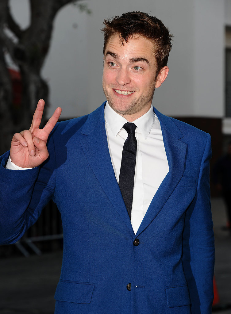 Robert Pattinson Shows Off His Silly Side at the Rover Premiere