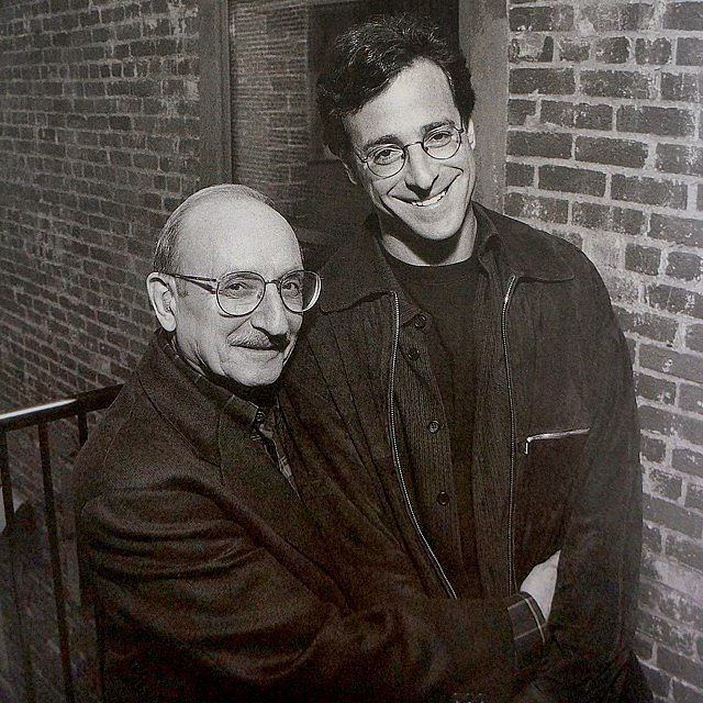 "Bob Saget reflected on how much he misses his dad, writing, ""My father, Ben. So kind. So funny. And such a great father."" Source: Instagram user bobsaget"