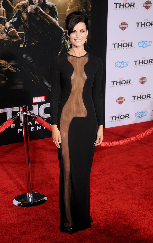 Jaimie Alexander at the Thor Premiere